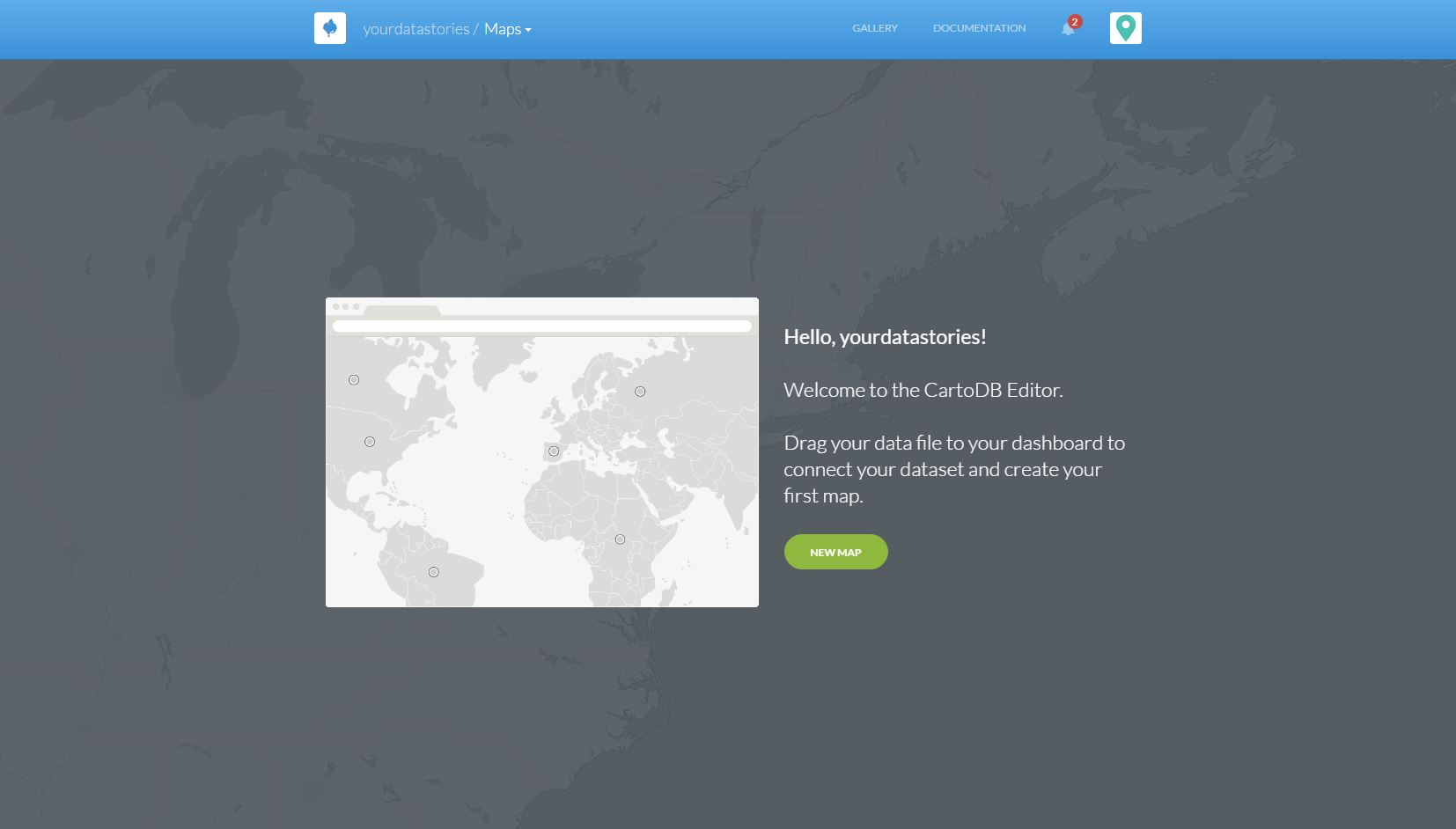 CartoDB Hello