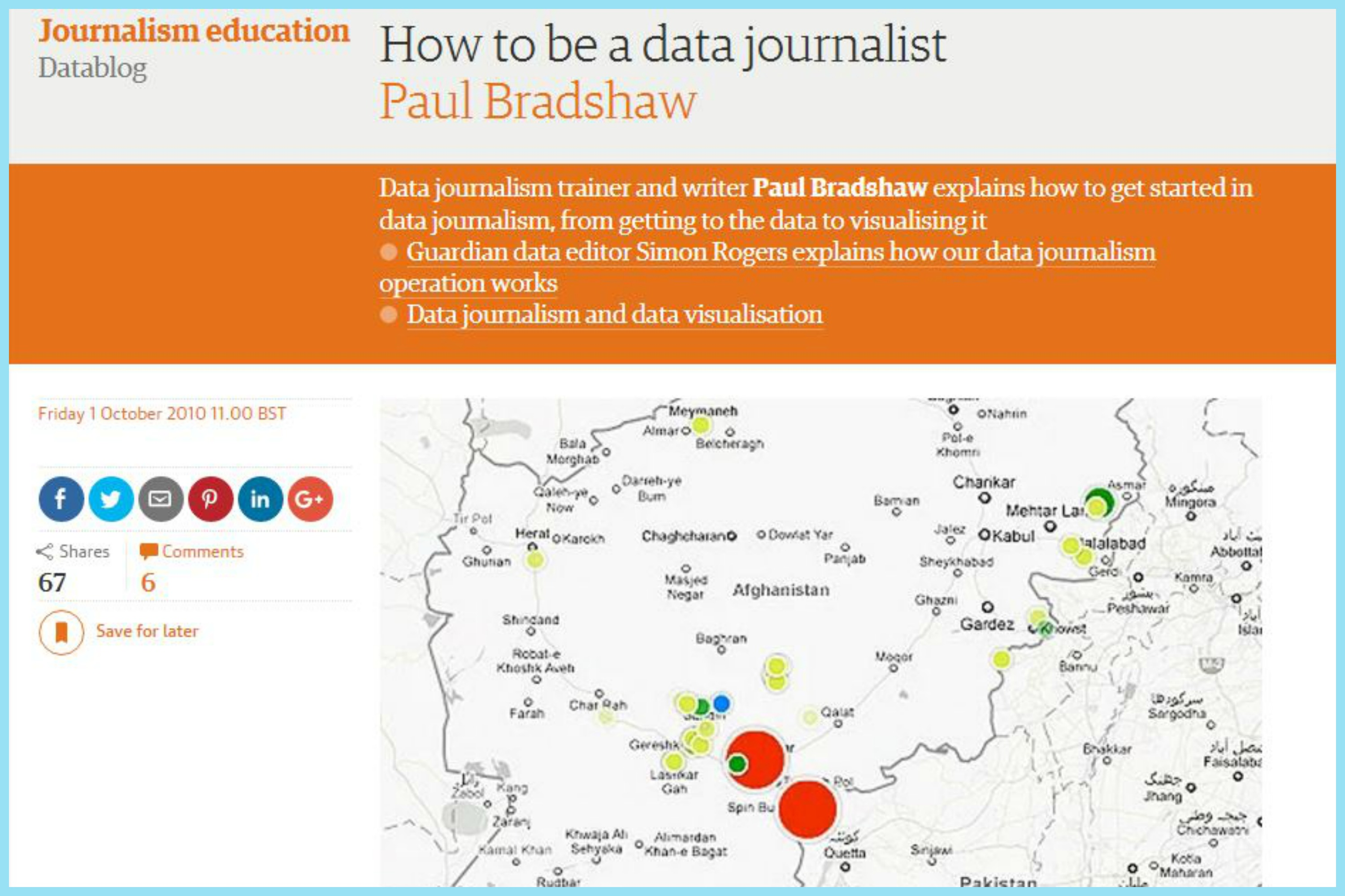 paul bredshaw on guardian data blog