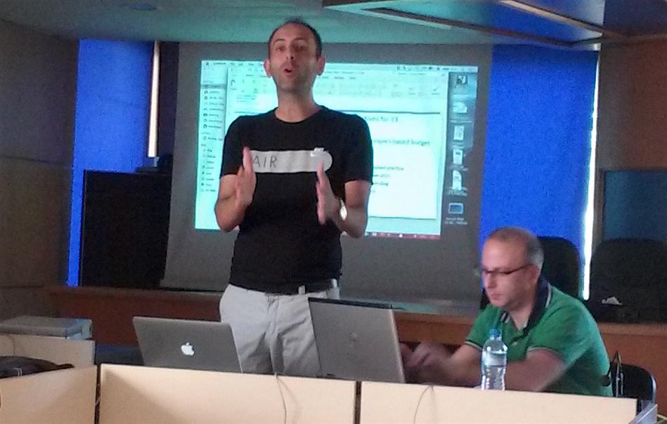 Explaining the projects prototype