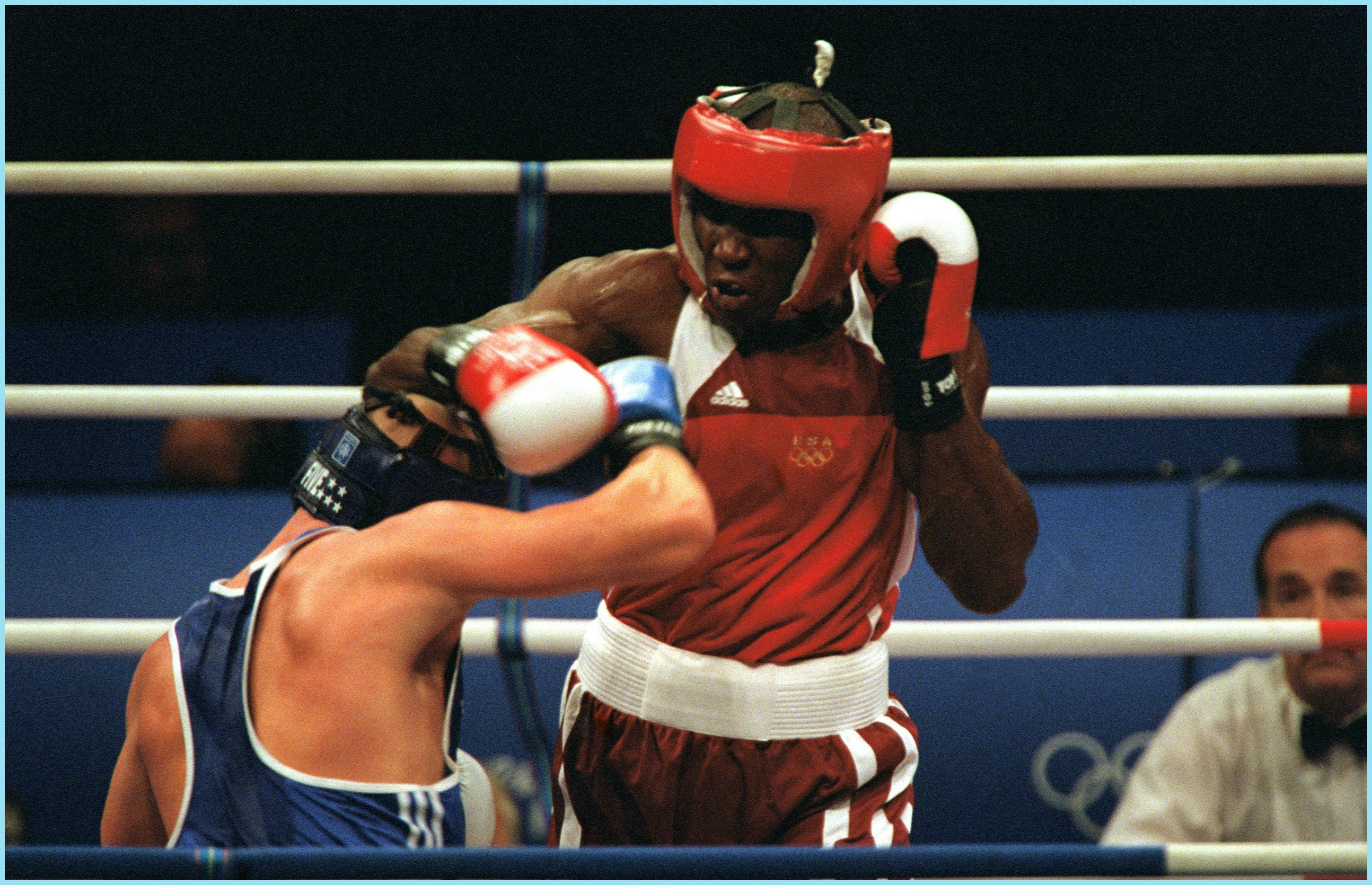 Olympic Games 2000, Boxing Olanda Anderson (Red) Rudolf Kraj
