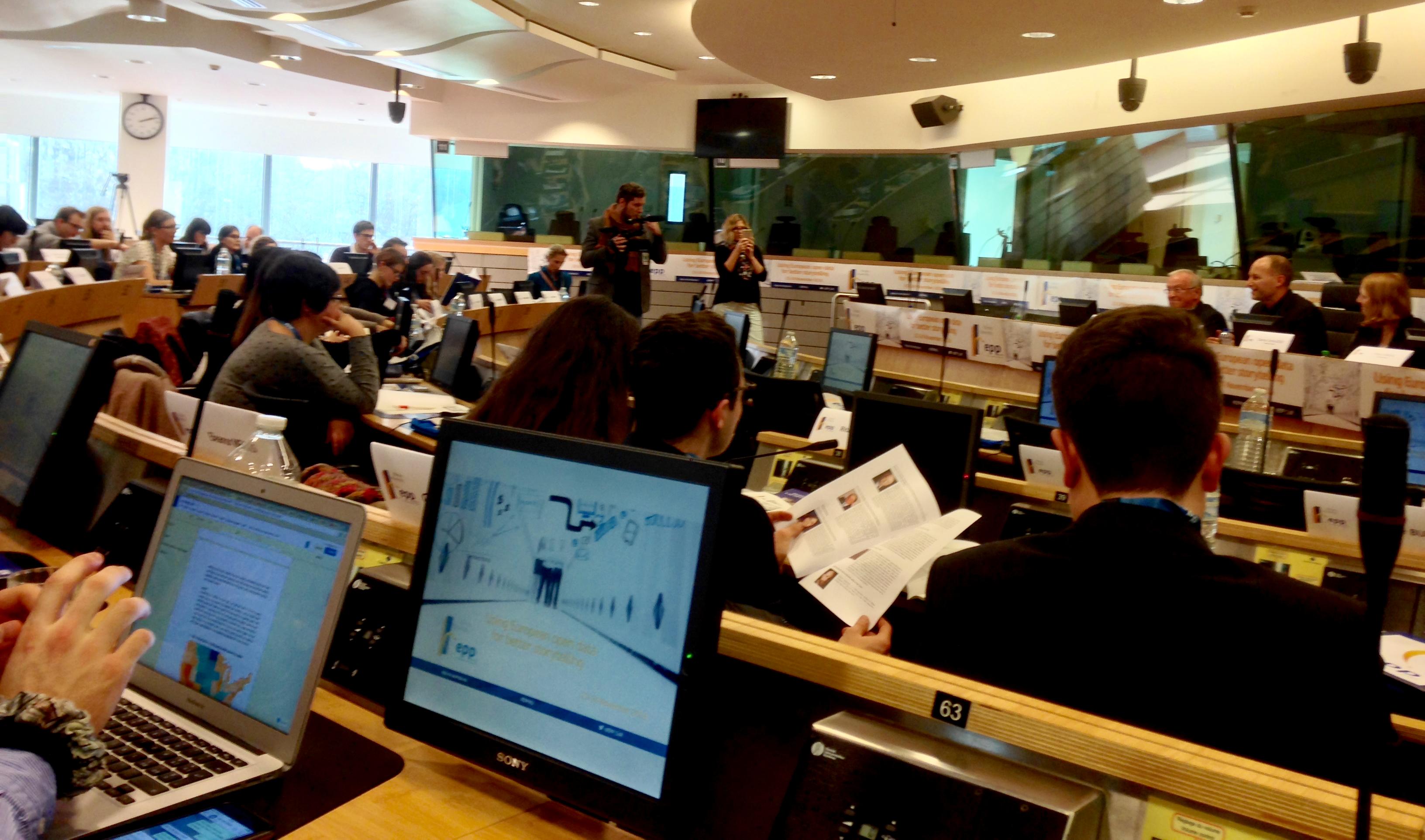 EPP Winter University - Using European data for better storytelling