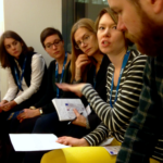 Discussion during the YourDataStories workshop about how to tackle use case 2