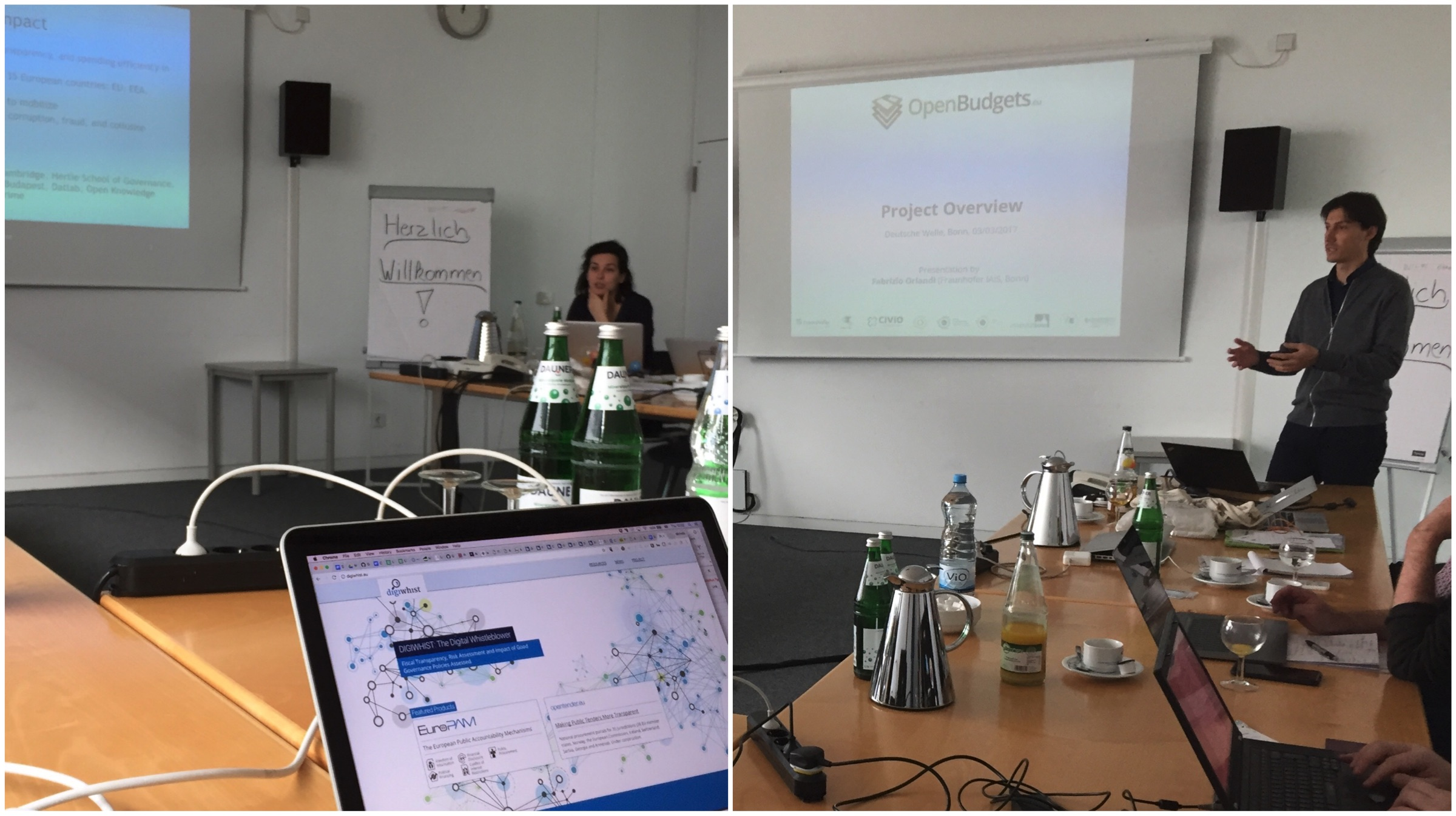 Cooperation Sessions with DigiWhist and OpenBudgets
