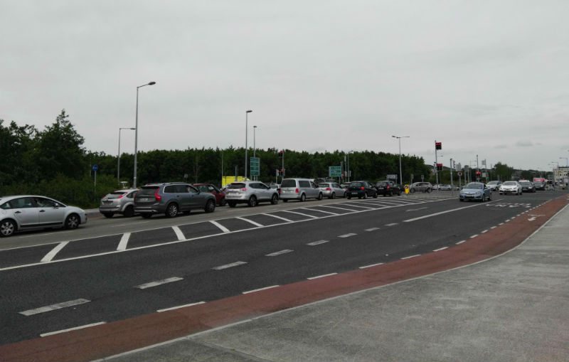Bodkin junction in Galway, Ireland
